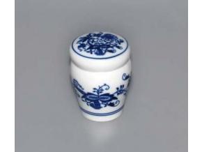 Dózička s těsněním  0,1 l, cibulák, Český porcelán