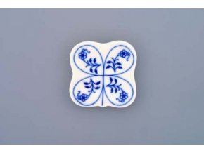 Podložka pod hůlky I  5 cm, cibulák, Český porcelán