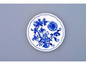 Podložka pod sklenici  10 cm, cibulák, Český porcelán