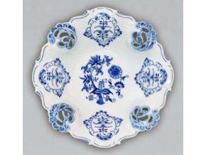 Mísa Aida prořezávaná  32 cm, cibulák, Český porcelán