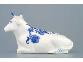 krava lezici figuralni porcelan cibulak