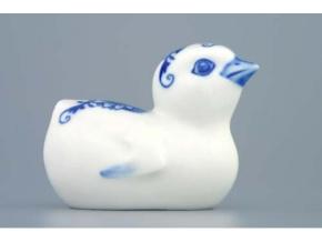 Kuřátko 8 cm, cibulák, Český porcelán