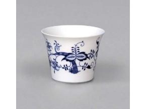 Průsvitka hladká 7,5 cm, cibulák, Český porcelán
