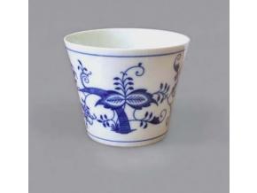 Průsvitka hladká glazovaná 7,9 cm, cibulák, Český porcelán