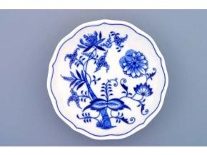 Podšálek 14 cm, cibulák, Český porcelán