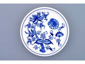 Podšálek Ben M 15,2 cm, cibulák, Český porcelán