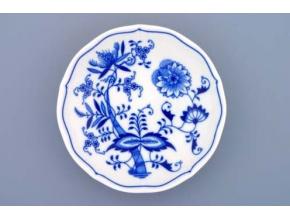 Podšálek 18,2 cm, cibulák, Český porcelán