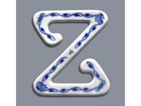 Spona na záclonu Z - velká, 12,5 x 11 cm, cibulák, Český porcelán