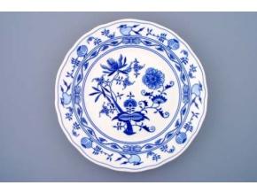 Mísa kulatá hluboká, 31 cm, cibulák, Český porcelán