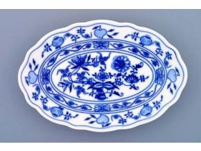 Mísa oválná, 20 cm, cibulák, Český porcelán