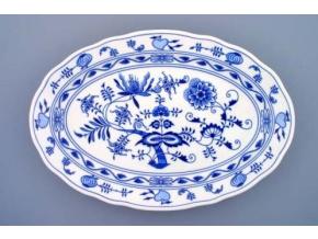 Mísa oválná, 43 cm, cibulák, Český porcelán