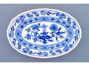 Mísa salátová oválná, 23 cm, cibulák, Český porcelán
