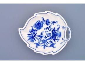 Mísa list, 15 cm, cibulák, Český porcelán
