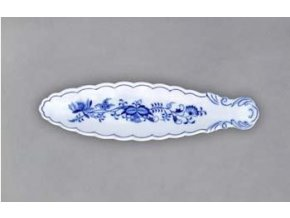Miska na olivy - kanoe, 217x60 mm, cibulák, Český porcelán