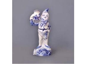 Trpaslík domácí Jaroslav, 18,5 cm, cibulák, Český porcelán
