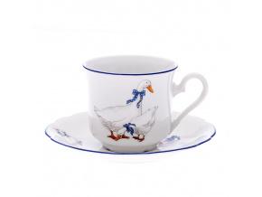 Mary-Anne, šálek s podšálkem na kávu, 0,15 l, porcelán, Leander