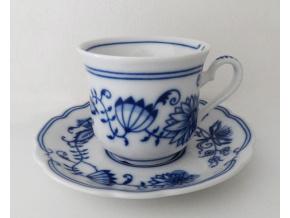 Mary - Anne, kávový šálek s podšálkem, cibulák