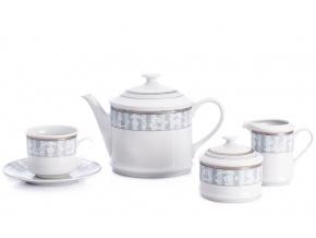 Sabina, čajová souprava, 15-dílná, kanafas