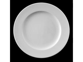 Talíř mělký 26 cm, bílý porcelán, Pureline, Lilien