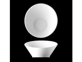Miska seřízlá 17 cm, bílý porcelán, Pureline, Lilien