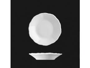 Talířek na máslo 11 cm, bílý porcelán, Verona, G. Benedikt