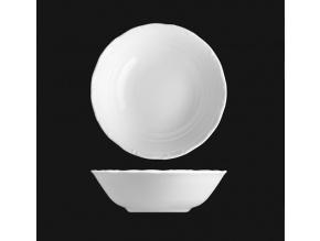 Miska kompotová 17 cm, bílý porcelán, Verona, G. Benedikt