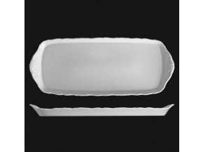 Podnos 37 cm, bílý porcelán, Verona, G. Benedikt