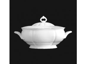 Polévková mísa 3,00 l, bílý porcelán, Verona, G. Benedikt