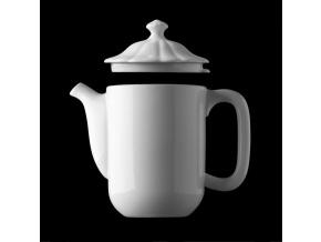 Konvice vysoká 1,15 l, český porcelán, Benedikt, G. Benedikt