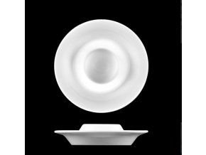 Kalíšek na vejce, bílý porcelán, Ess-Klasse, Lilien