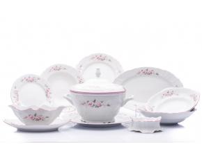 jidelni souprava bernadotte ruzicky ruzova linka porcelanovy svet