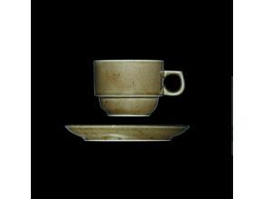 Šálek s podšálkem 110 ml, český porcelán, Country Range, G. Benedikt