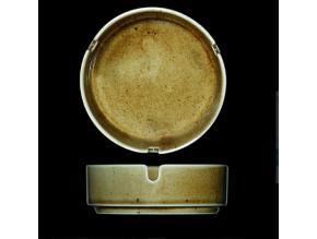 Popelník 10,2 cm, český porcelán, Country Range, G. Benedikt