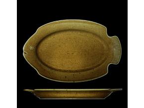 Podnos na rybu 27x24 cm, český porcelán, Country Range, G. Benedikt