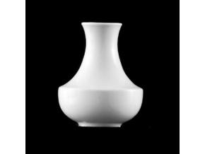 Vázička 9,5 cm, bílý porcelán, Praha, G. Benedikt