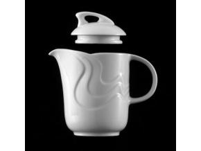 Konvice kávová 600 ml, bílý porcelán, Melodie, G. Benedikt