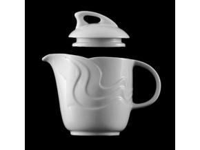 Konvice čajová 700 ml, bílý porcelán, Melodie, G. Benedikt
