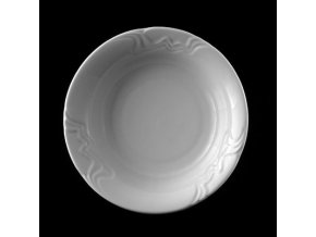 Miska kompotová 13 cm, bílý porcelán, Melodie, G. Benedikt