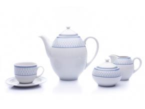kavova souprava opal modra mrizka thun cesky porcelan