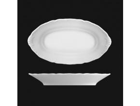 Mísa přílohová 26 cm, bílý porcelán, Verona, G. Benedikt