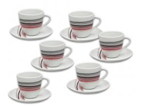 Sylvie salky a podsalky kavove prouzky thun
