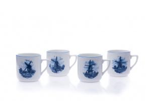 porcelánové hrnky pětka mlýny 400 ml český porcelán