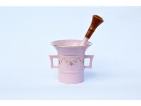 hmozdir ruzovy porcelan leander ruzicky