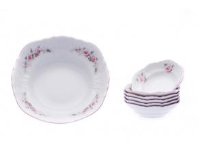 Bernadotte kompotova souprava ruze ruzovy prouzek Thun porcelanovy svet