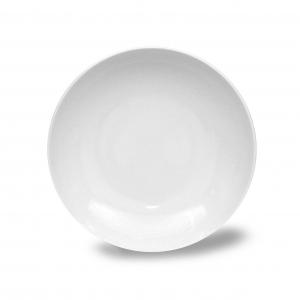 Talíř hluboký, český porcelán Thun, Tom 20 cm, bílý