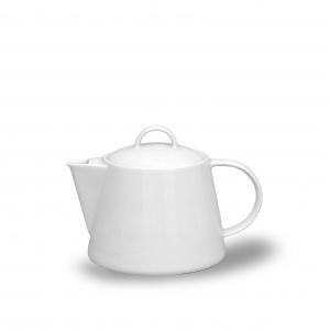 Konvice čajová bílá 1,3 l, porcelán Thun Tom