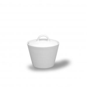 Cukřenka bílá, český porcelán, Thun Tom