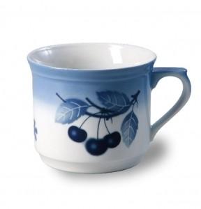Porcelánový hrnek vařák, 0,63 l, modré třešně, Thun