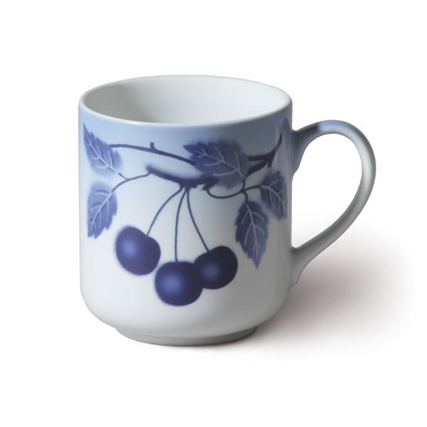 Hrnek, 185 ml, 4 ks, blue cherry