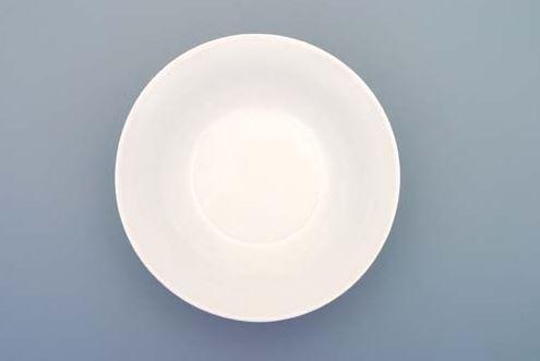 Porcelánová miska kompotová, Bohemia White, Český porcelán